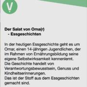 Der Salat von Oma(r)
