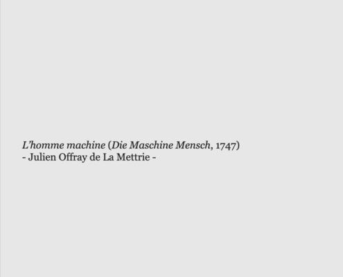 Die Maschine Mensch