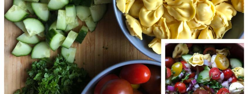 Tortellini-Salat - Bunt, schnell und lecker