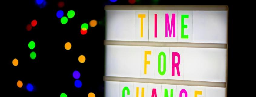 Veränderung darf Spaß machen