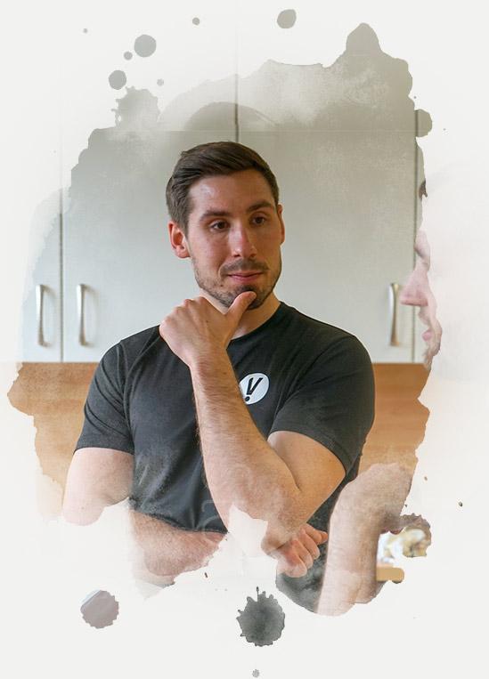 Ernährungsberater Julian Jaschinger arbeitet in Hannover